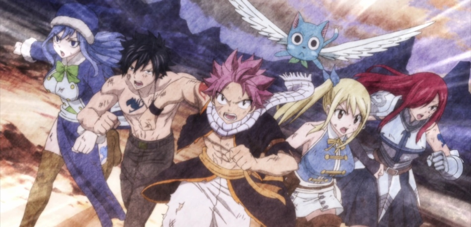 Fairy Tail Final Season – Episode 1 (Review) – The Nerd Book